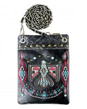 2030W212(BK)-wholesale-cross-body-bag-messenger-bag-rhinestone-aztec-eagle-leather-turquoise-embroidery(0).jpg