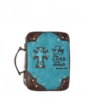 BL13502W3CCRJOY(TQ)-wholesale-bible-case-cross-turquoise-scripture-verse-floral-tooled-leatherette-faux-rhinestone-stud-(0).jpg