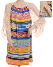 FXD210P(MUL)-SIZE(1XL)-wholesale-top-serape-aztec-floral-multicolor-stripe-lace-sleeve-polyester-elastane-printed-graphic(0).jpg
