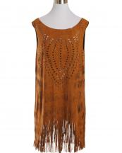 JV0049(BR)-wholesale-one-piece-dress-faux-suede-laser-cut-solid-color-fringe-tassel-polyester(0).jpg