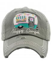 KBV1276(MOS)-wholesale-cap-happy-camper-camp-trailer-heart-floral-banner-embroidered-baseball-vintage-torn-cotton(0).jpg