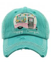 KBV1276(TQ)-wholesale-cap-happy-camper-camp-trailer-heart-floral-banner-embroidered-baseball-vintage-torn-cotton(0).jpg