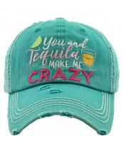 KBV1282(TQ)-wholesale-cap-you-tequila-crazy-lime-shot-multicolor-embroidery-baseball-vintage-torn-stitch-cotton(0).jpg