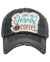 KBV1357(BK)-wholesale-baseball-cap-give-me-jesus-coffee-embroidered-vintage-torn-stitch-cotton-velcro-adjustable(0).jpg
