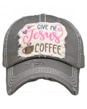 KBV1357(MOS)-wholesale-baseball-cap-give-me-jesus-coffee-embroidered-vintage-torn-stitch-cotton-velcro-adjustable(0).jpg