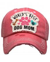 KBV1362(HPK)-wholesale-baseball-cap-world-best-dog-mom-embroidered-vintage-torn-stitch-cotton-velcro-adjustable(0).jpg
