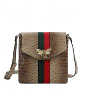 L0192(TP)-wholesale-messenger-bag-alligator-ostrich-animal-pattern-stripe-bee-charm-red-green-flap-vegan-gold(0).jpg
