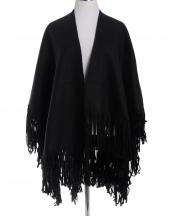 OZ0025(BK)-wholesale-ruana-poncho-wrap-shawl-solid-color-plain-fringe-one-size-polyester-diffent-front-length(0).jpg