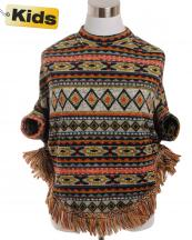 SJB192(RU)-wholesale-poncho-tribal-aztec-fringe-children-kid-one-size-polyester-spandex-warm-put-in-arms-design(0).jpg