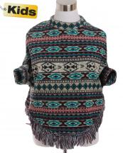 SJB192(TL)-wholesale-poncho-tribal-aztec-fringe-children-kid-one-size-polyester-spandex-warm-put-in-arms-design(0).jpg