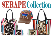 Wholesale serape apparel clothing handbags wallets caps
