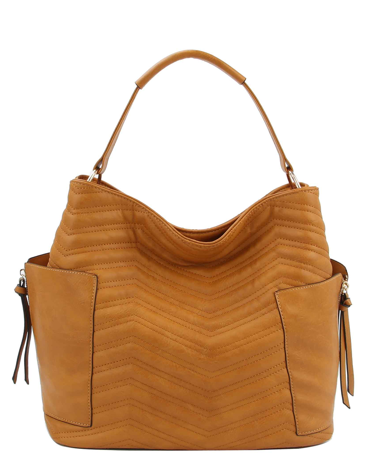 LB105C(MU)-wholesale-handbag-chevron-embossed-embroidered-pocket-zipper-solid-color-gold-vegan-zigzag-fashion(0).jpg