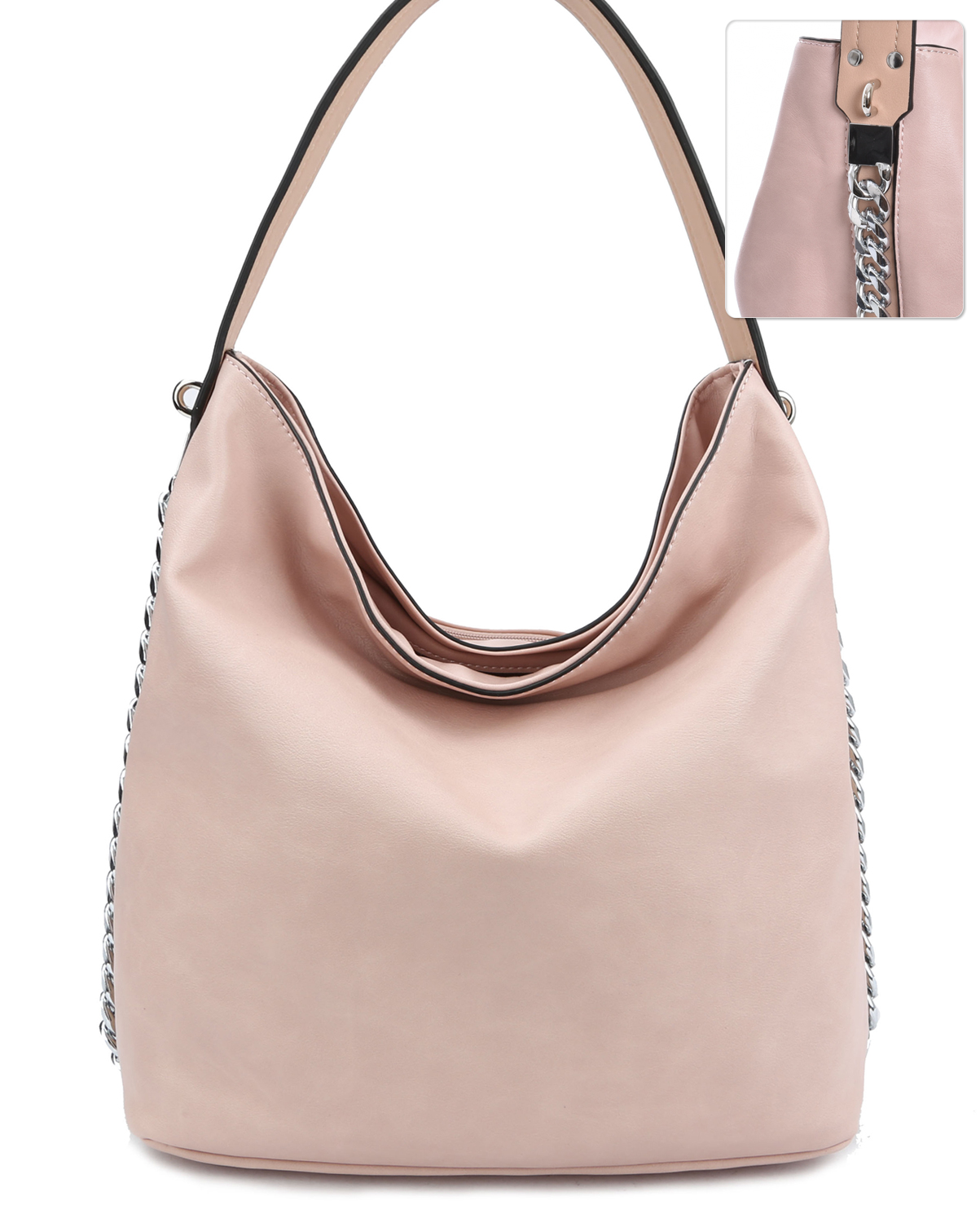 LD125(BS)-S21-wholesale-handbag-fashion-leatherette-solid-color-silver-tone-metal-chain-plain-distressed-faux(0).jpg
