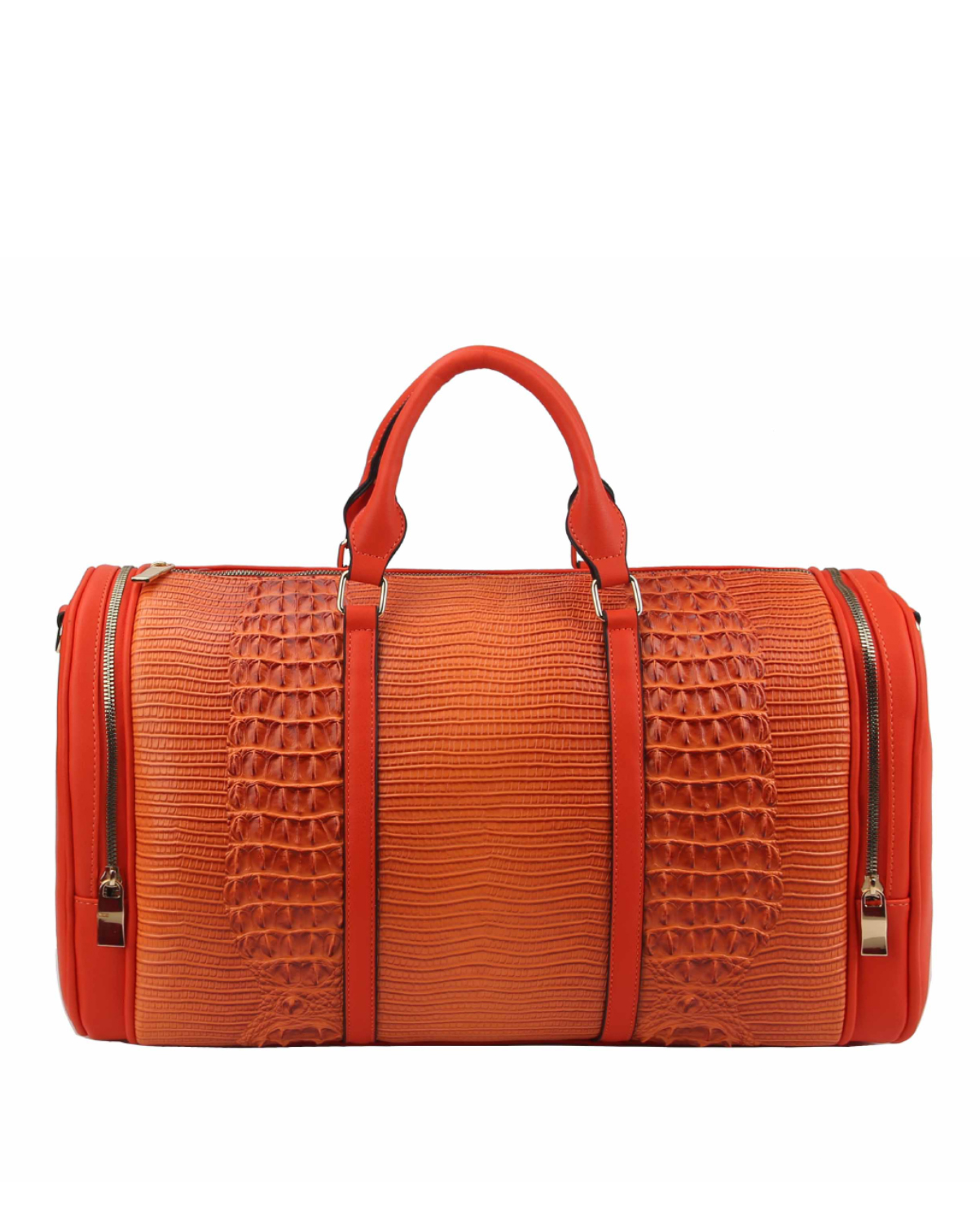 LHU308(OR)-wholesale-duffle-bag-set-pouch-alligator-ostrich-leatherette-luggage-tag-double-zipper-travel-(0).jpg