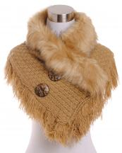 CS7221(TP)-wholesale-scarf-neck-warmer-shorty-poncho-faux-fur-collar-solid-color-knitted-tassel-fringe-buttons(0).jpg