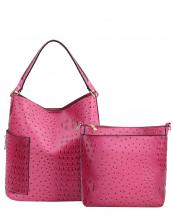 F0222(FU)-wholesale-handbag-2pc-set-pouch-bag-alligator-ostrich-animal-pattern-vegan-leather-pocket-zipper(0).jpg