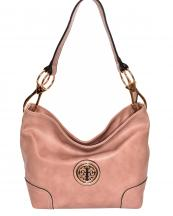HB3134M(MA)-wholesale-handbag-faux-leatherette-hobo-gold-metal-emblem-link-lobster-claw-clasp-solid-fashion(0).jpg