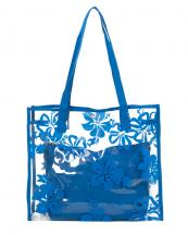 HBG100905(BL)-wholesale-plastic-clear-tote-bag-pvc-floral-fabric-woven-pouch(0).jpg