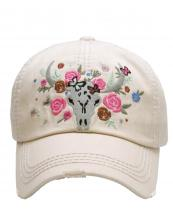 KBV1124(ST)-wholesale-cap-floral-cow-skull-vintage-torn-stitch-baseball-cotton-embroidery-flower-rose-multicolor(0).jpg