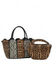 L0231(MUL2)-(SET-2PCS)-wholesale-handbag-leopard-snake-animal-pattern-printed-black-bag-vegan-leatherette-layered-strap-set(0).jpg