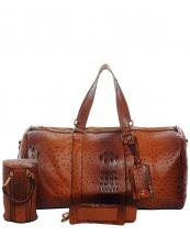LF128(COG)-wholesale-duffle-bag-set-pouch-alligator-ostrich-leatherette-luggage-tag-double-zipper-travel-(0).jpg