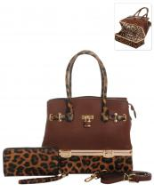 LH0491W(BR)-wholesale-handbag-wallet-set-2pcs-leopard-padlock-gold-metal-compartment-bottom-leatherette-wristlet(0).jpg