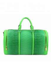 LHU308(NG)-wholesale-duffle-bag-set-pouch-alligator-ostrich-leatherette-luggage-tag-double-zipper-travel-(0).jpg