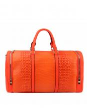 LHU308(NO)-wholesale-duffle-bag-set-pouch-alligator-ostrich-leatherette-luggage-tag-double-zipper-travel-(0).jpg