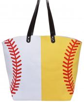 LOA062(MUL)-wholesale-handbag-tote-bag-beach-baseball-sport-ball-stitches-red-leatherette-handle-faux(0).jpg