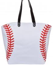 LOA062(WT)-wholesale-handbag-tote-bag-beach-baseball-sport-ball-stitches-red-leatherette-handle-faux(0).jpg