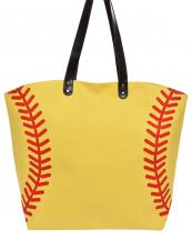 LOA062(YE)-wholesale-handbag-tote-bag-beach-baseball-sport-ball-stitches-red-leatherette-handle-faux(0).jpg