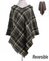 LOF171(GY)-wholesale-poncho-plaid-checkered-houndstooth-reversible-knitted-fringe-tassel-one-size-acrylic(0).jpg
