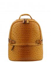 LQ065O(MU)-wholesale-backpack-alligator-ostrich-animal-pattern-faux-vegan-leather-strap-belt-buckle-gold-pocket(0).jpg