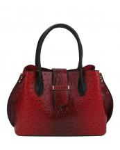 LQ151(RD)-wholesale-handbag-alligator-ostrich-animal-pattern-vegan-leatherette-flap-loop-black-compartment(0).jpg