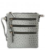 LQ172O(GY)-wholesale-cross-body-bag-solid-color-vegan-leatherette-three-zippered-pockets-stripe-alligator(0).jpg