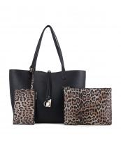 MA5031T(BKBR)-(SET-3PCS)-wholesale-handbag-pouch-bag-wristlet-leopard-animal-pattern-vegan-leatherette-gold-metal-hardware(0).jpg