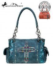 MW606G8085(TQ)-MW-wholesale-handbag-montana-west-concealed-arrow-cross-western-embroidered-floral-tooled-stitch-patina(0).jpg