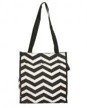 PH3013(BK)-wholesale-polyester-chevron-tote-bag--coin-pouch(0).jpg