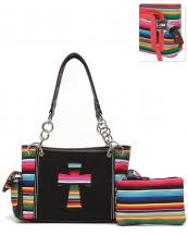 SER28469C(BK)-wholesale-handbag-pouch-bag-set-cross-serape-multicolor-stripe-canvas-fabric-leatherette-concealed(0).jpg