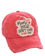 T13MHD01(COR)-W06-wholesale-cap-baseballmama-hair-dont-care-arrow-heart-embroidered-vintage-torn-stitch-cotton(0).jpg