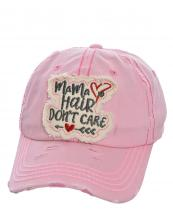 T13MHD01(PK)-wholesale-cap-baseballmama-hair-dont-care-arrow-heart-embroidered-vintage-torn-stitch-cotton(0).jpg