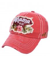 T13MOM09(COR)-wholesale-cap-mama-bear-floral-multi-color-baseball-embroidered-vintage-torn-stitch-cotton-animal(0).jpg