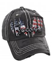 T13USA03(BK)-wholesale-cap-freedom-american-flag-usa-star-stripe-feather-cotton-vintage-torn-embroidered-baseball(0).jpg