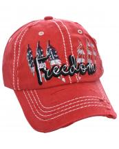 T13USA03(RD)-wholesale-cap-freedom-american-flag-usa-star-stripe-feather-cotton-vintage-torn-embroidered-baseball(0).jpg