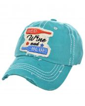 T13WIN06(TQ)-wholesale-cap-wine-red-blue-bottle-glass-star-emboss-embroidered-vintage-torn-stitch-baseball-cotton(0).jpg