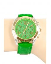 12366(GN)-wholesale-chronograph-watch-gold-bezel-leather-strap(0).jpg