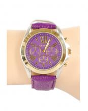 12366(PP)-wholesale-chronograph-watch-gold-bezel-leather-strap(0).jpg