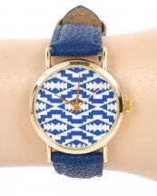 13121(RB)-wholesale-metal-watch-stainless-gold-bezel-genuine-leather-strap-aztec-southwestern(0).jpg