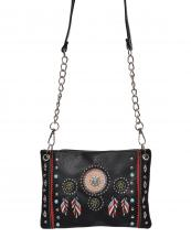 2020W148(BK)-wholesale-messenger-bag-native-american-dreamcatcher-concho-turquoise-feather-rhinestone-studs(0).jpg