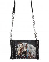 2020W193(BK)-W37-wholesale-messenger-bag-crossbody-horse-feather-embroidered-rhinestone-turquoise-chain-multicolor(0).jpg